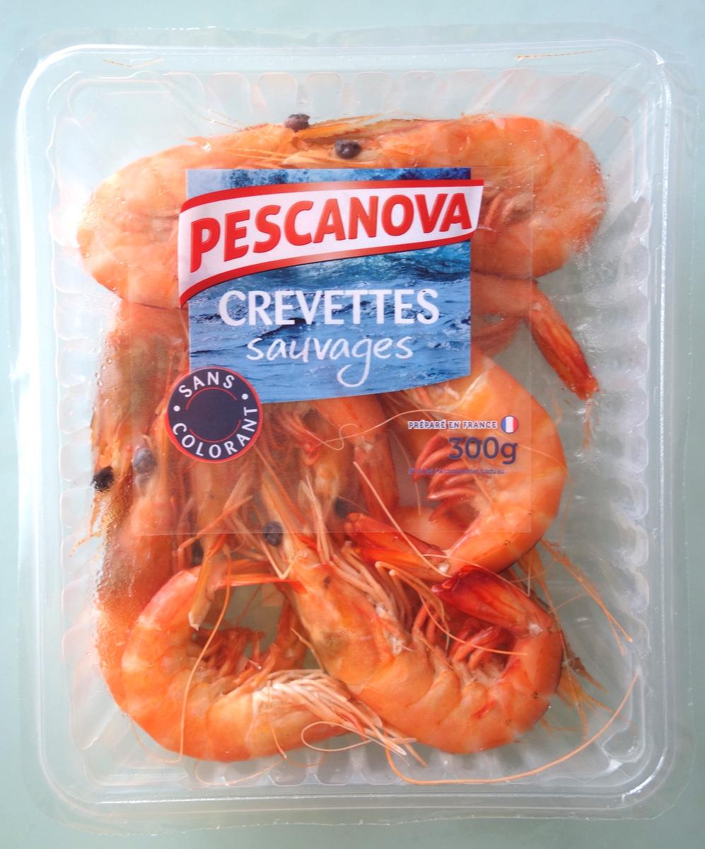 Les crevettes Pescanova