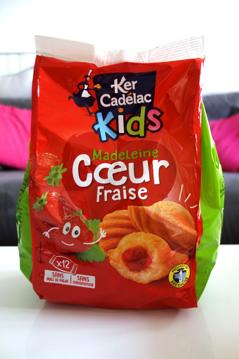 Les madeleines Ker Cadélac kids
