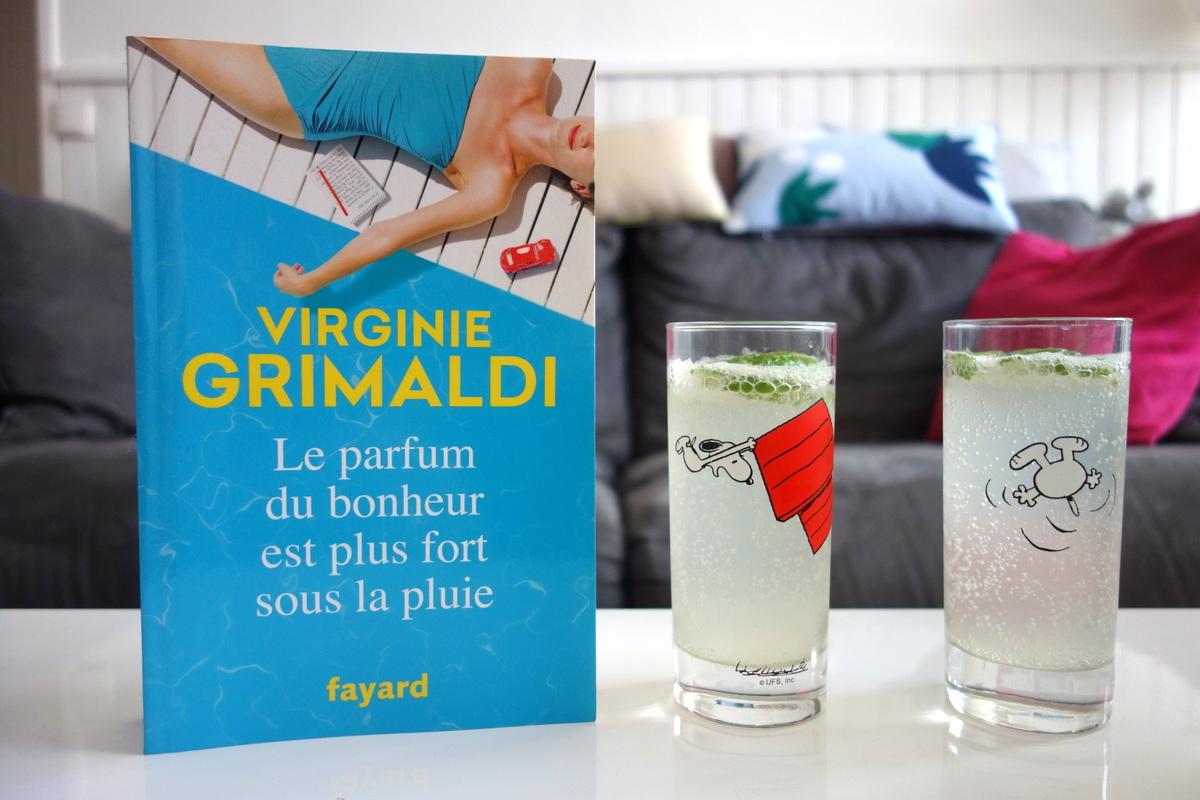 Le parfum du bonheur est plus fort sous la pluie - Vignie Grimaldi - Le blog lecture de Lili