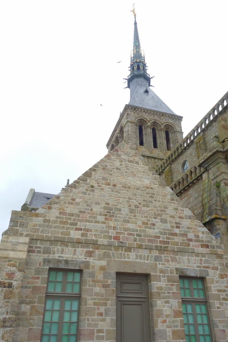 Mont-Saint-Michel - Dans l'enceinte de l'abbaye