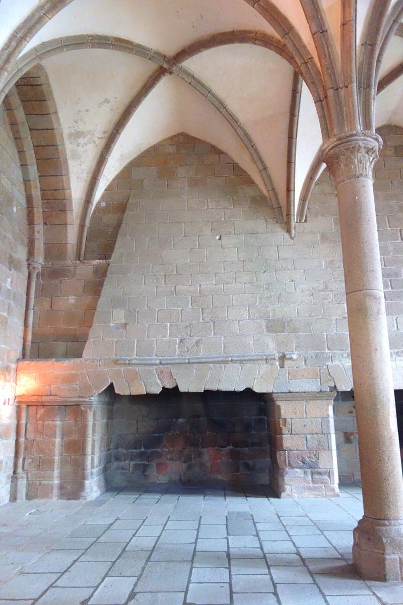 Mont-Saint-Michel - Intérieurs de l'abbaye