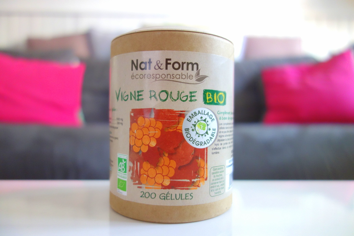 Nat & form vigne rouge