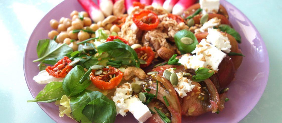 Plat estival - Potager city - Degustabox - Food press tour