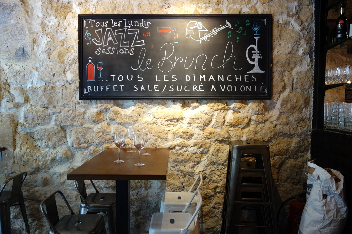 Le brunch de vino e cucina Paris