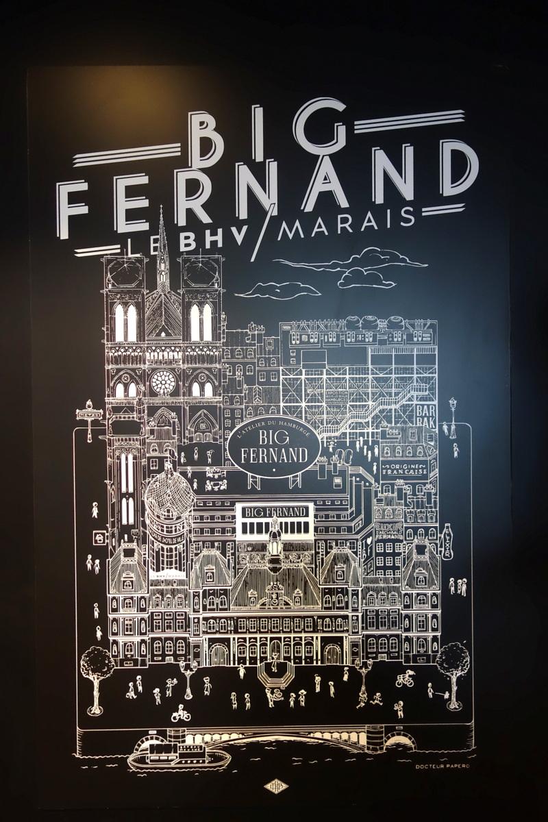 Big Fernand BHV Marais