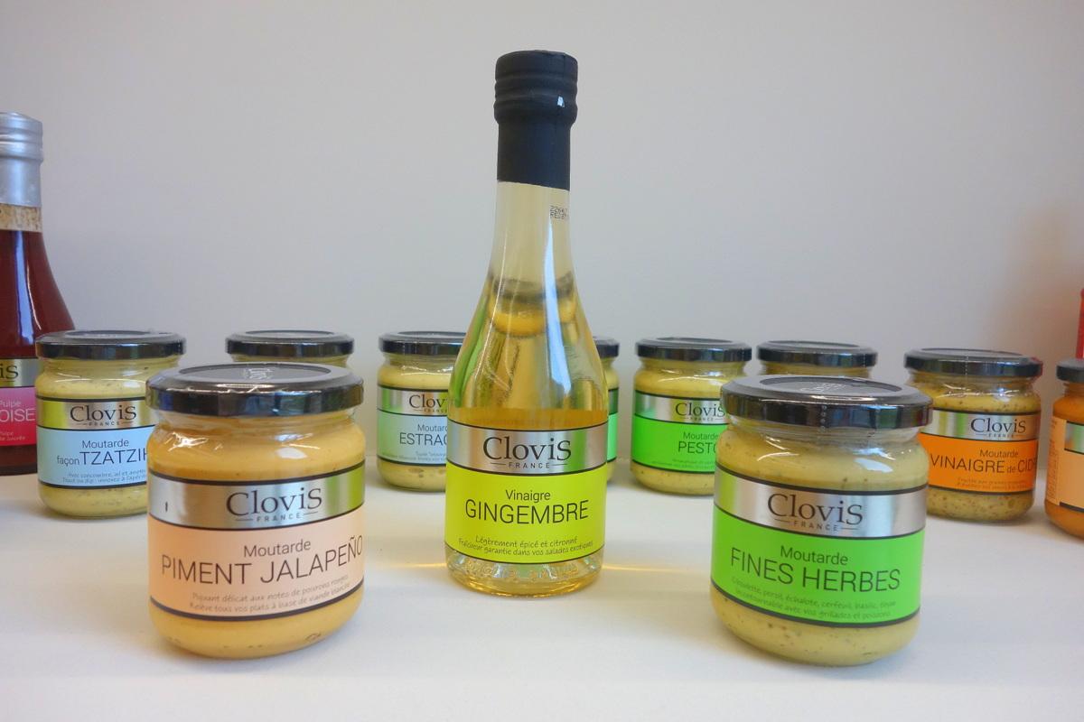 Visite de l'usine de vinaigre et de moutarde Clovis à Reims