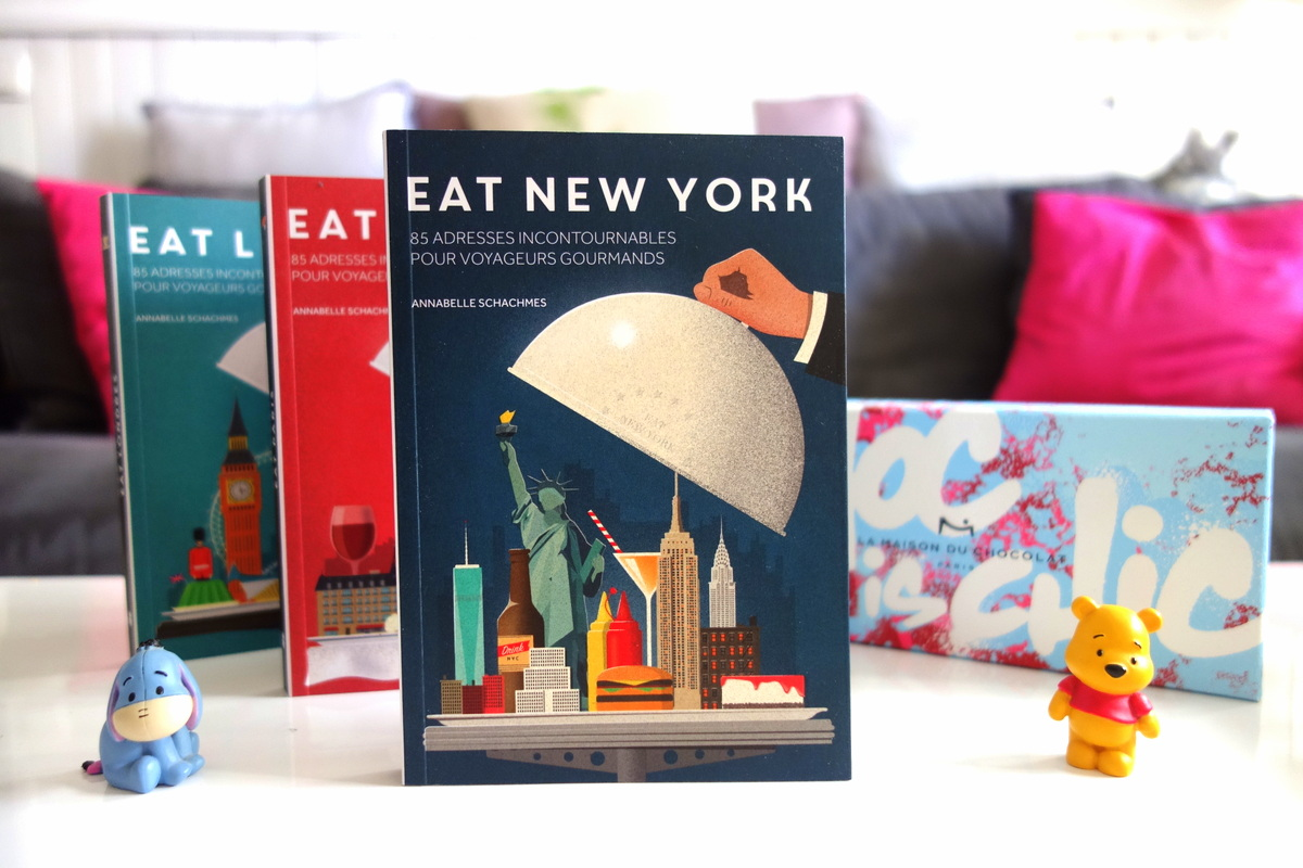 Guides Eat Paris, London et New York des éditions Tana