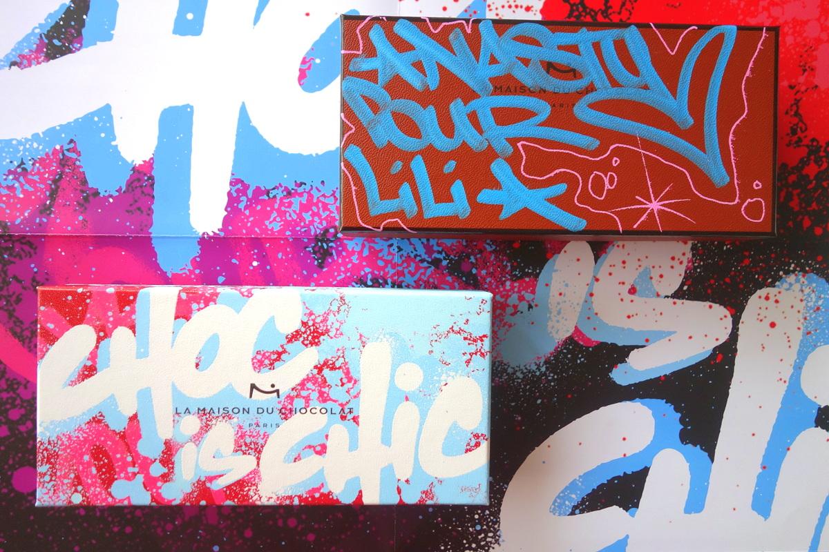 La Maison du chocolat 40 ans - Street art par Nasty