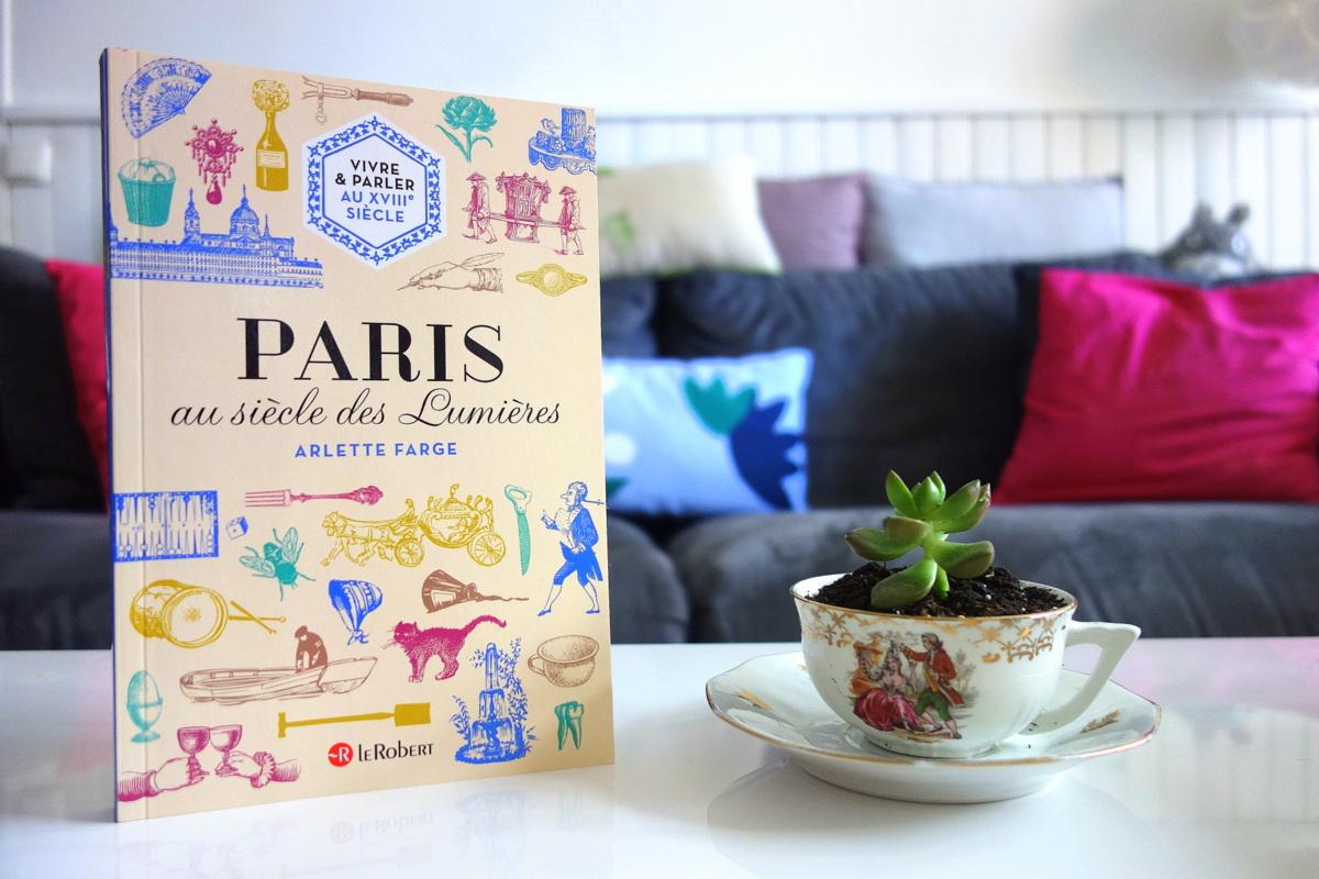 Livre Paris au siècle des Lumières, Le Robert