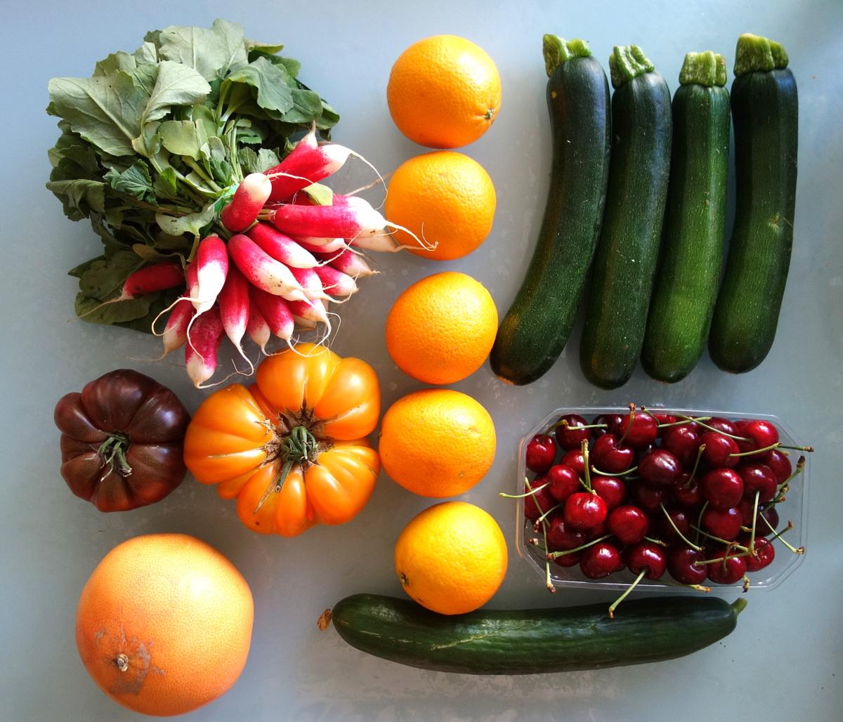 Potager city - Paniers de légumes de saison sur commande