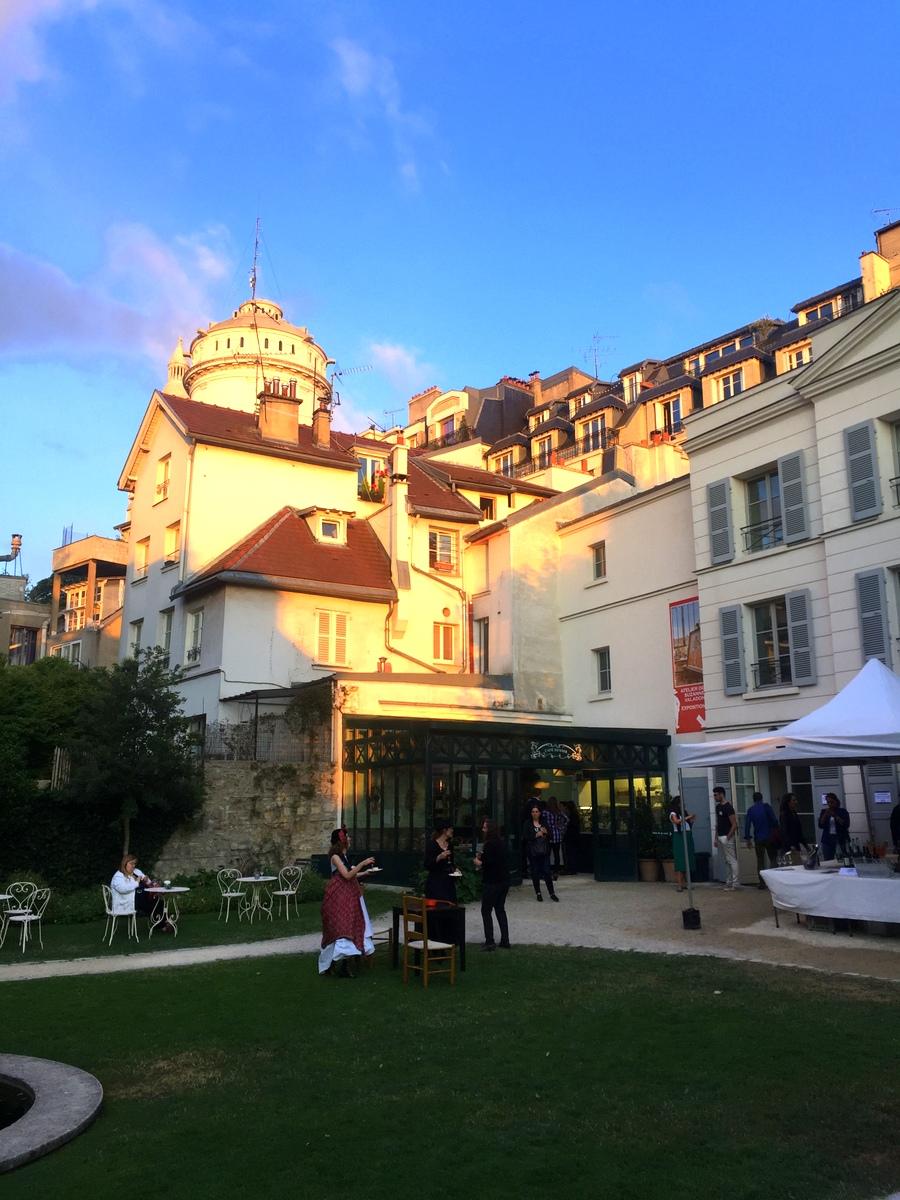 Musée Montmartre, Paris - Café Renoir - Blog de Lili