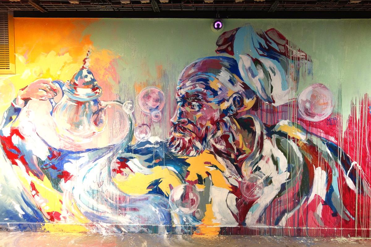 Rehab 2 - Projet street art cité universitaire de Paris - Copyright : le blog de Lili