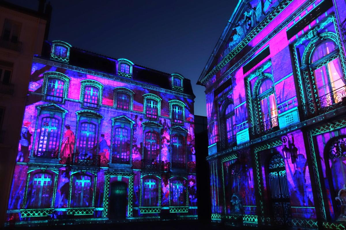 Bourg-en-Bresse - Couleurs d'amour 2017 - Hôtel de ville