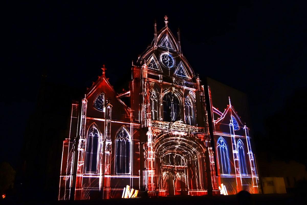 Bourg-en-Bresse - Monastère royal de Brou - Couleurs d'amour 2017