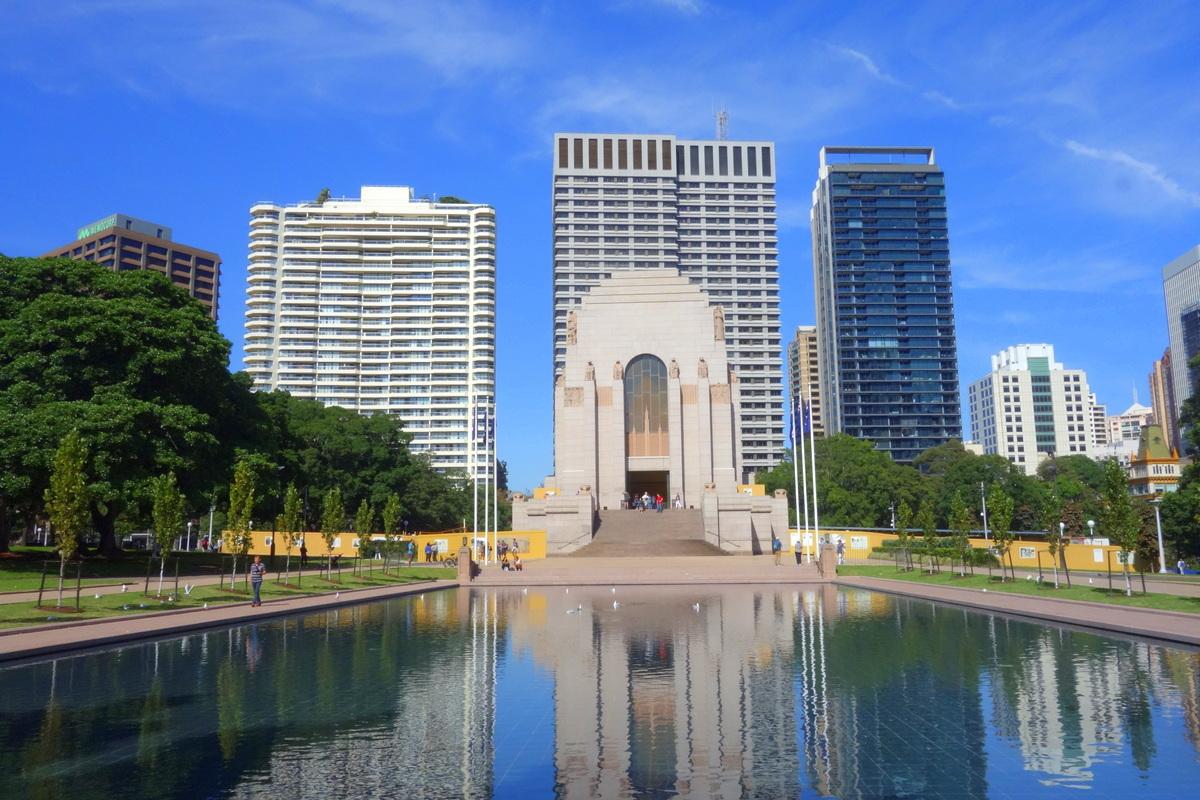 Hyde Park - 5 jours à Sydney - Blog de Lili, voyage