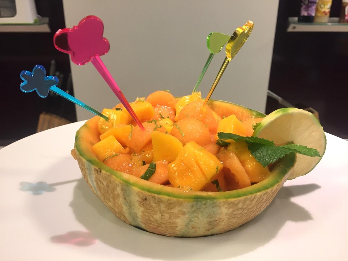 Fruits et légumes frais - Interfel - Recette au melon