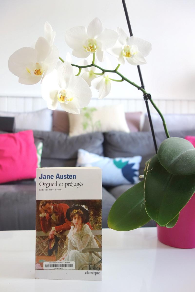 Jane Austen - Orgueil et préjugés - Le blog de Lili et son orchidée