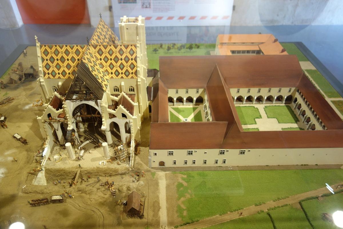Bourg-en-Bresse - Monastère royal de Brou - Exposition quel chantier
