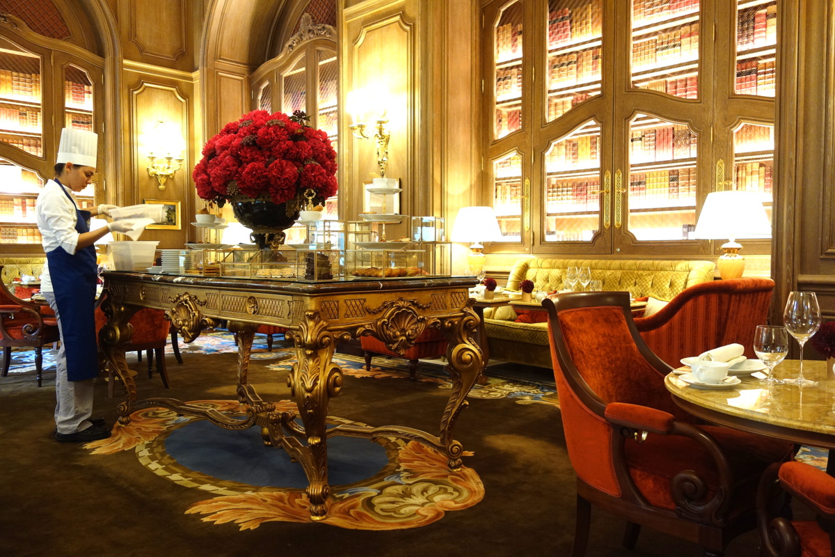 Ritz Paris - Goûter à la française au salon Proust - Le blog de Lili