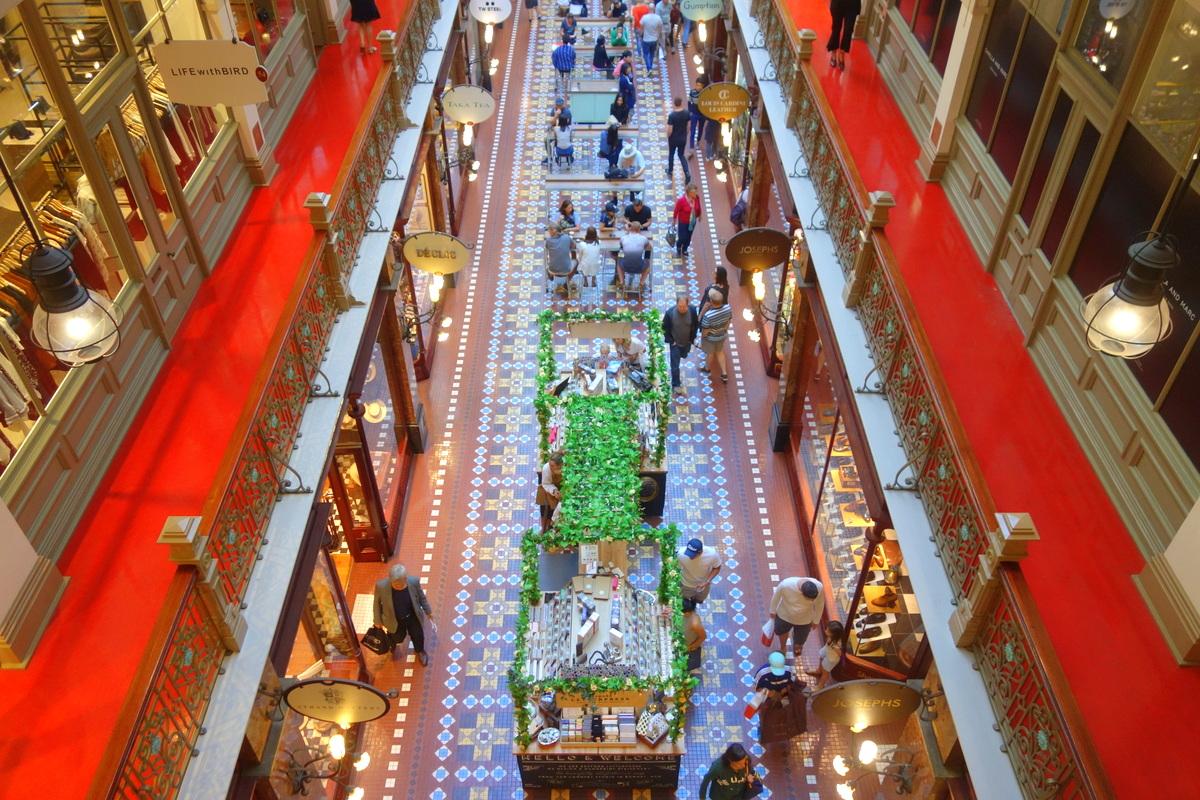 The Strand Arcade - 5 jours à Sydney - Blog de Lili, voyage