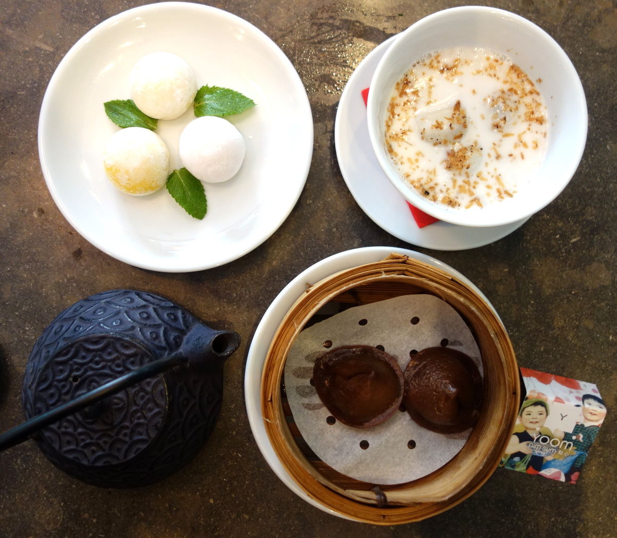 Yoom dim sum Paris - Rue des Martyrs - Blog food Paris