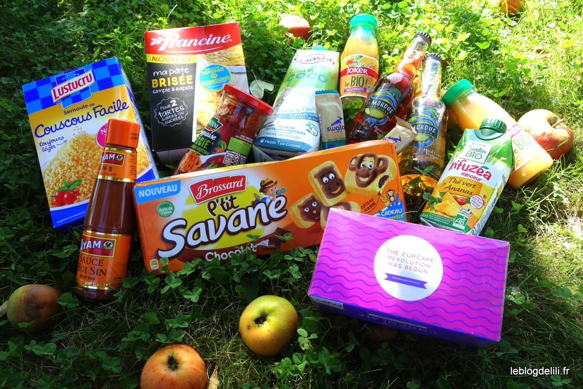 Degustabox juillet 2017 - Blog food de Lili