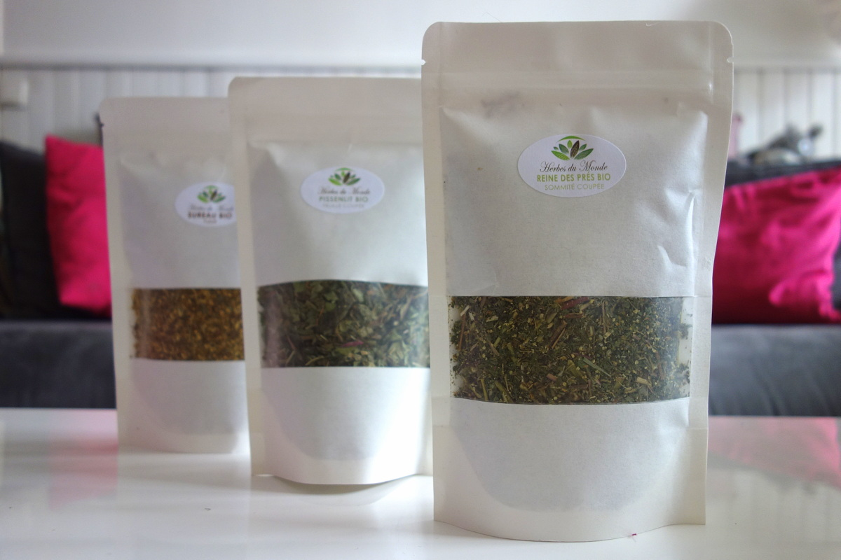 Infusions herbes du monde