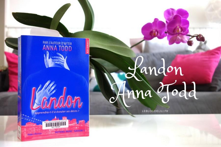 Landon, Anna Todd - New romance - Blog lecture