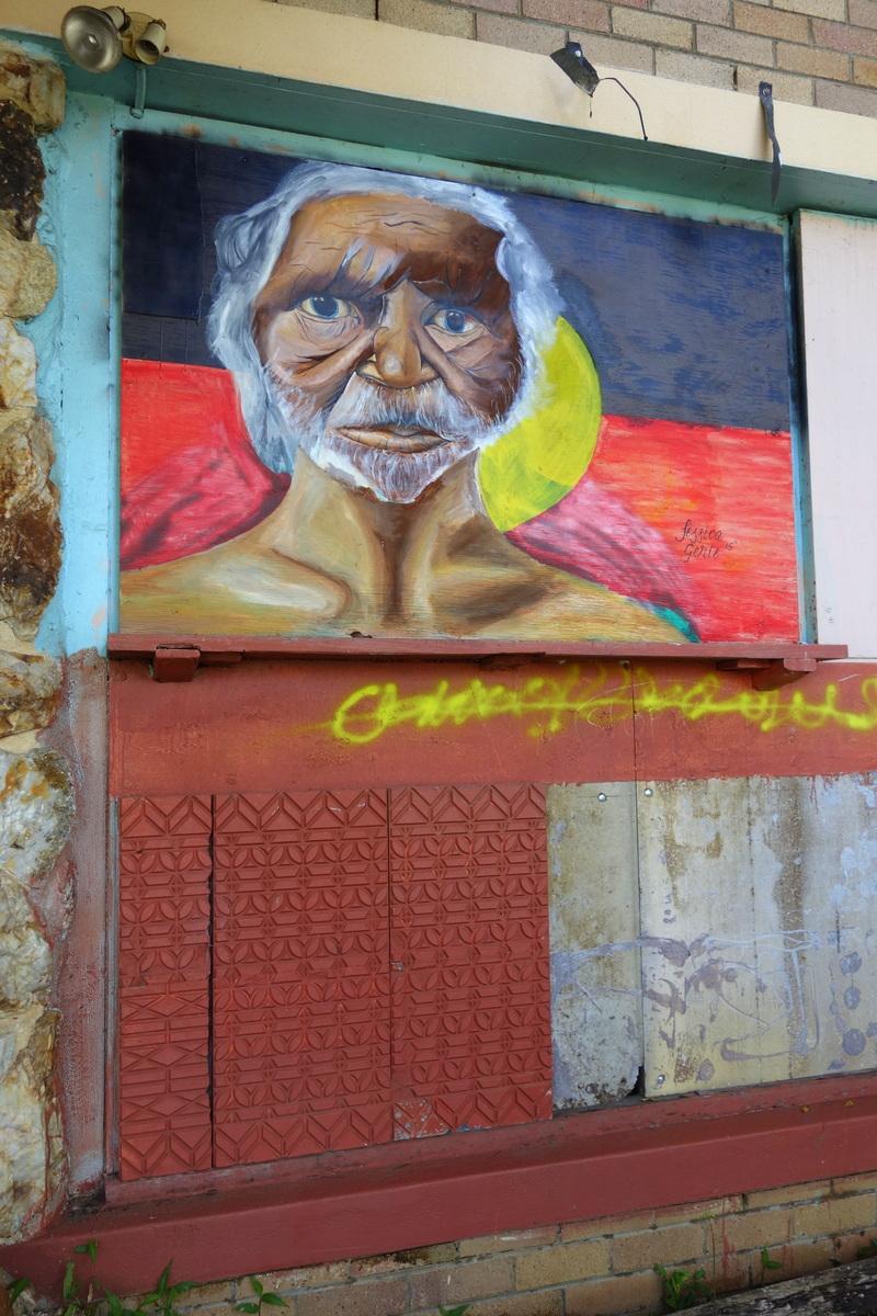 Street art - Nimbin - Australie