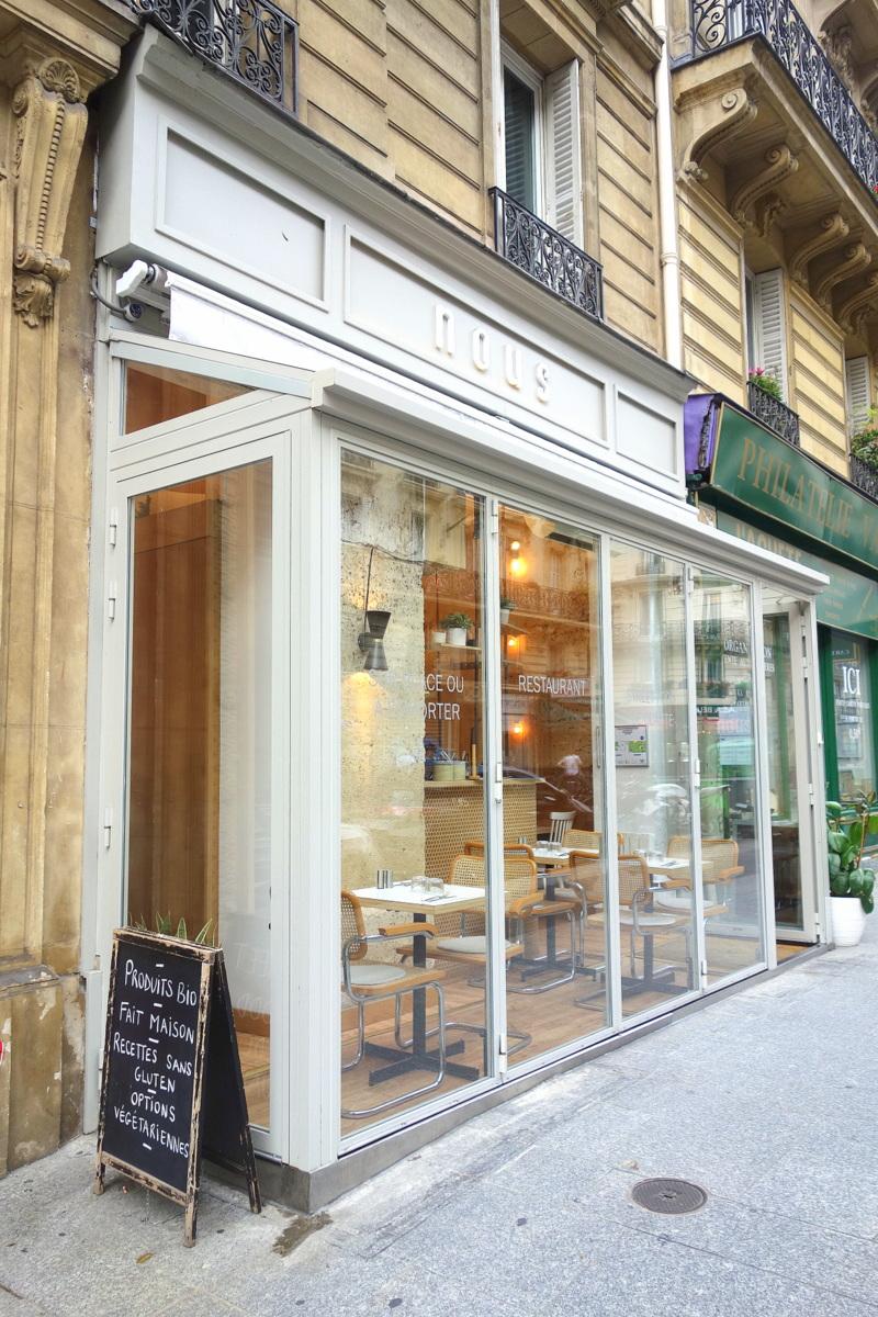 Nous Châteaudun - restaurant healthy Paris