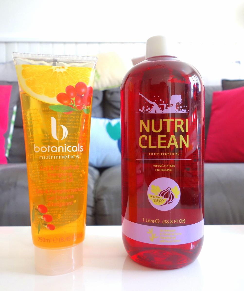 Nutrimetics - gels douches d'été