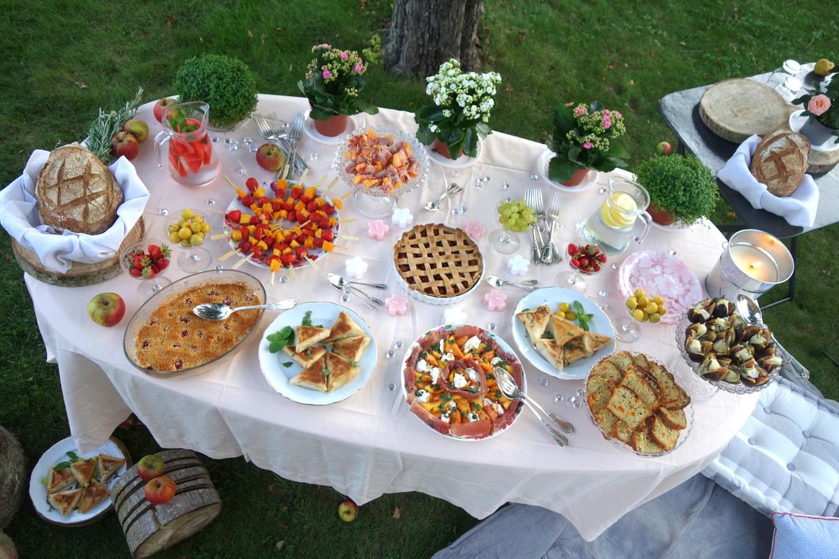 Meilleur de tous Pique-nique chic et champêtre sur le thème des fruits et des  BS83
