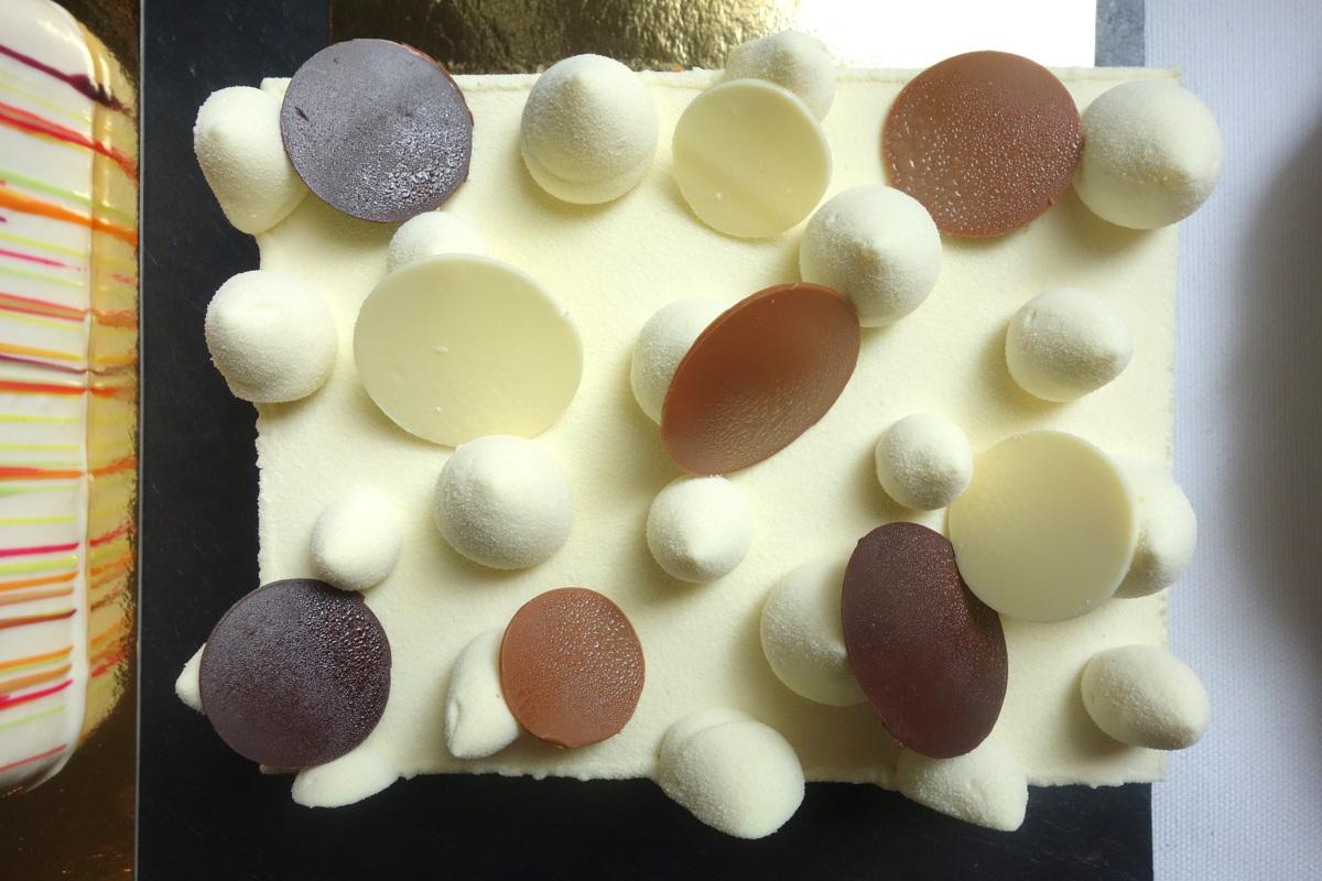 Monoprix Noël 2017 - Entremets cheesecake signé Christophe Adam