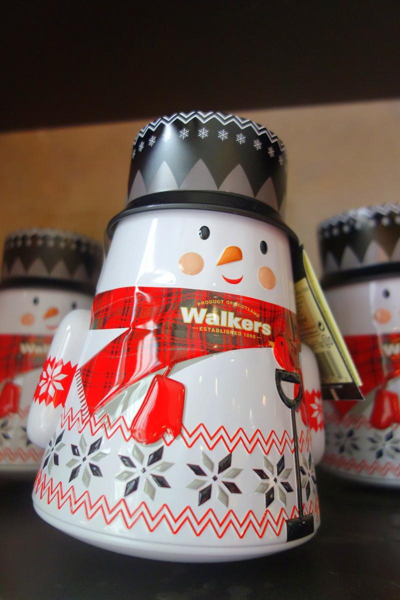 Monoprix Noël 2017 - Wobbly père Noël et bonhomme de neige