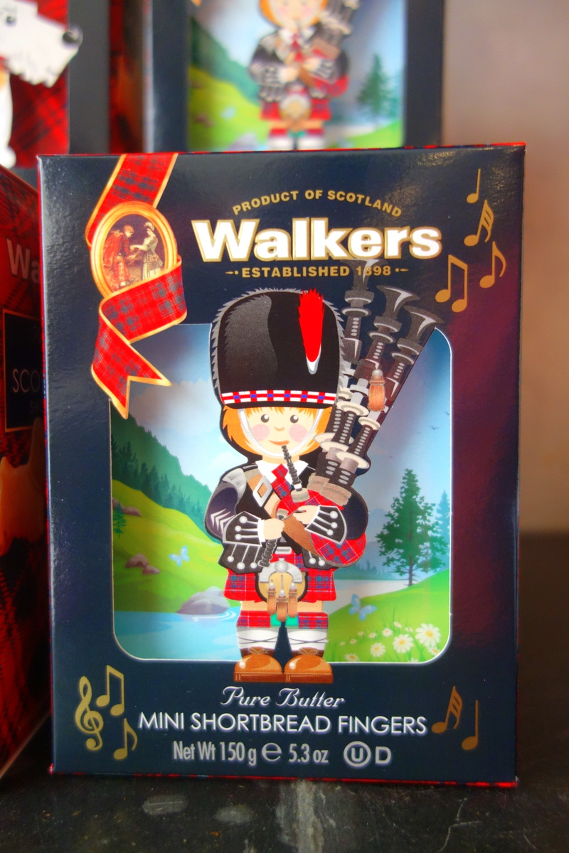Monoprix noël 2017 : biscuits Walkers