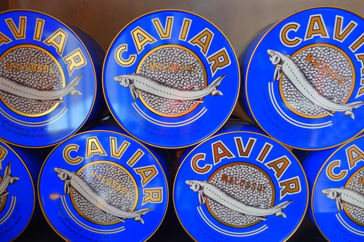 Monoprix Noël 2017 caviar