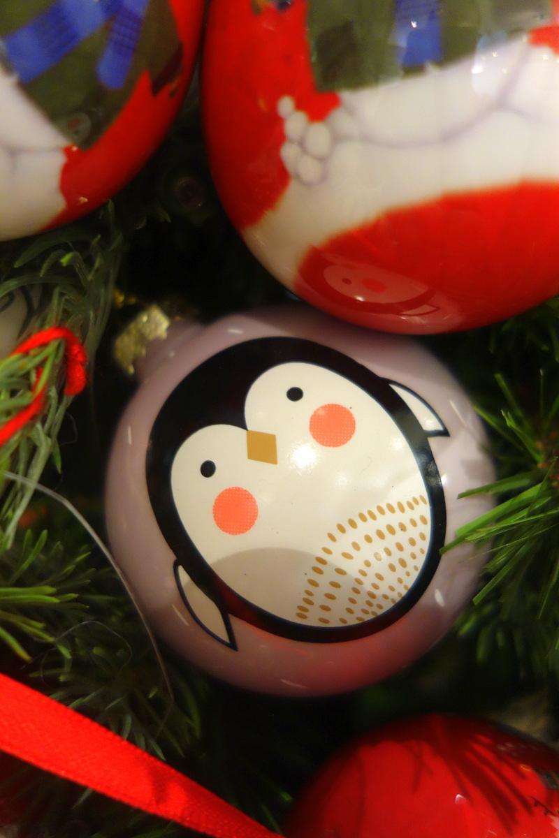 Monoprix Noël 2017 - Décoration de sapin de Noël