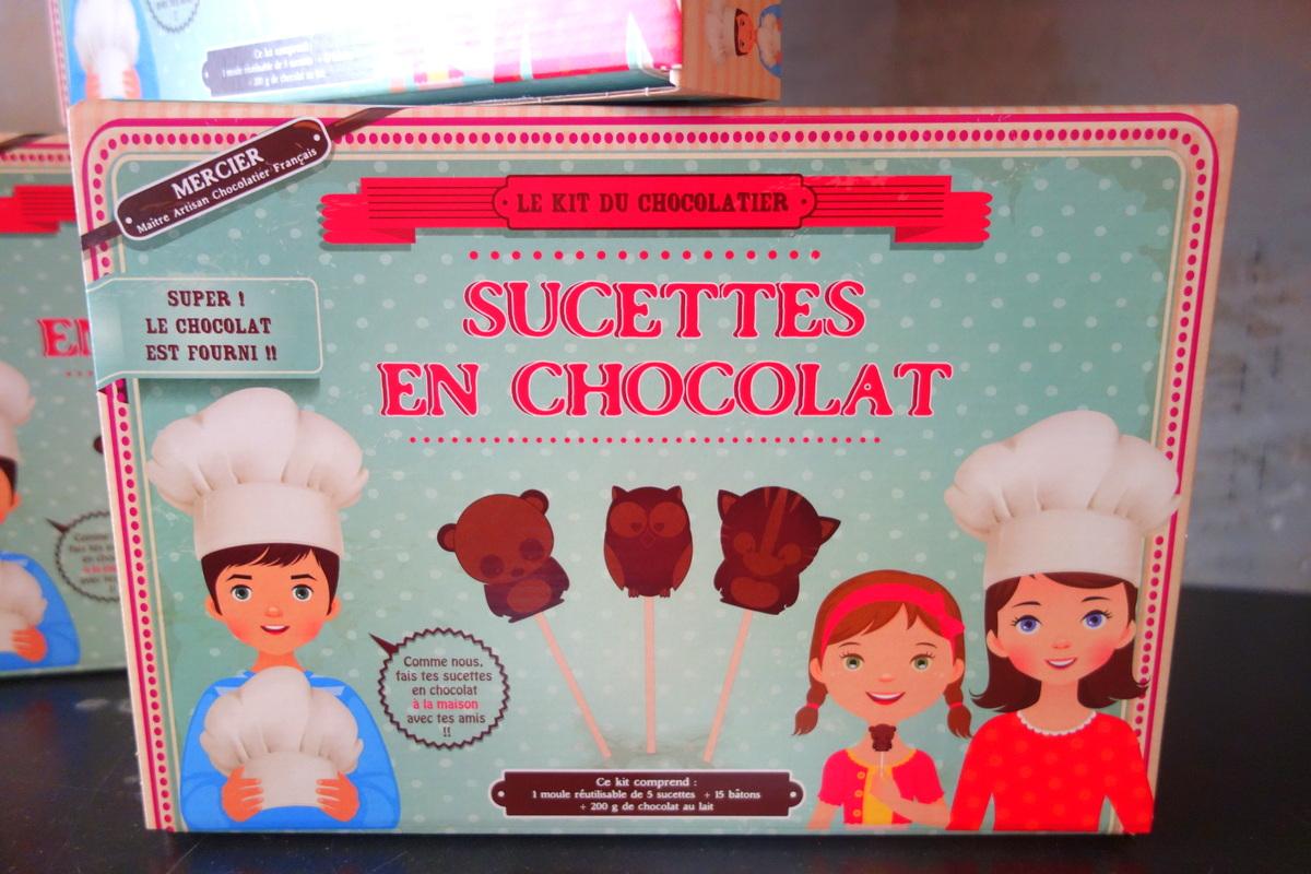 Monoprix Noël 2017 - Sucettes au chocolat