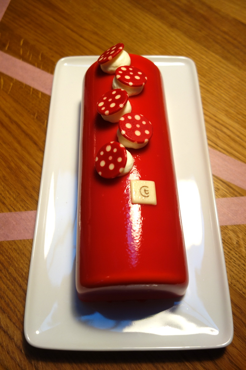 Gateau de noel thiriet