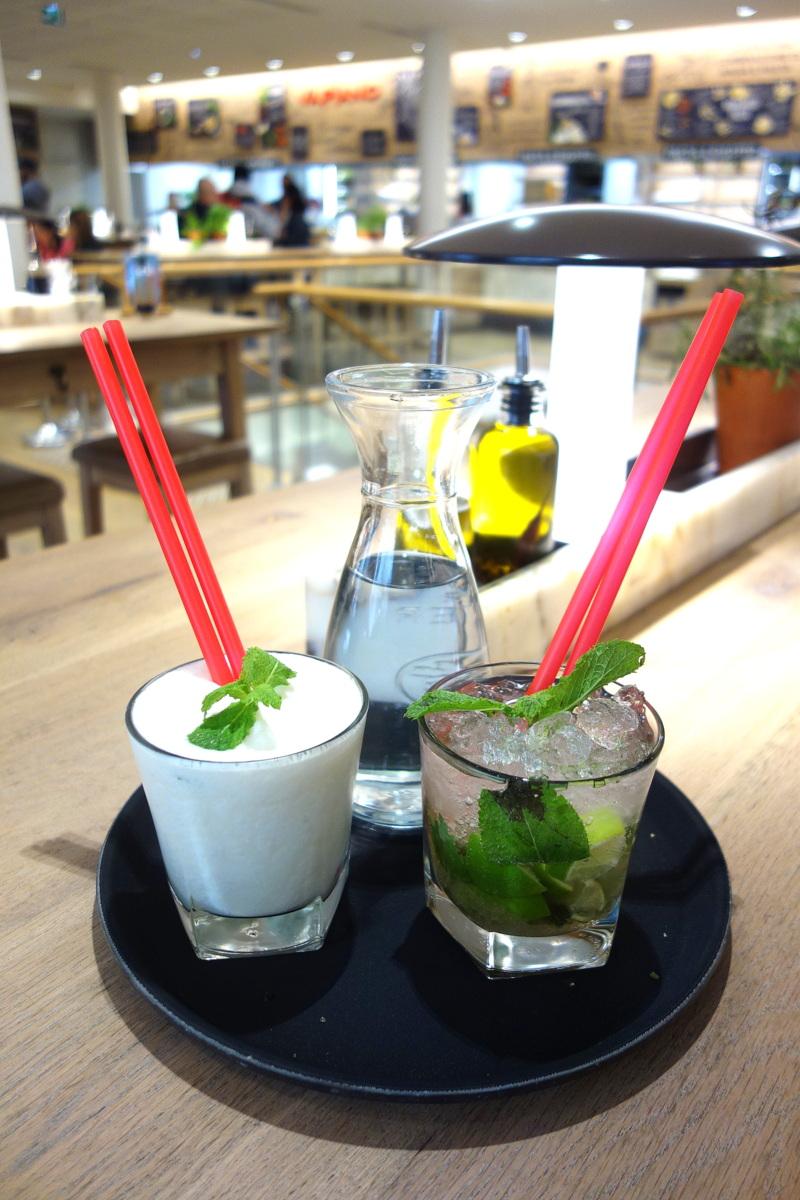 Vapiano Champs-Elysées - Cocktails sans alcool