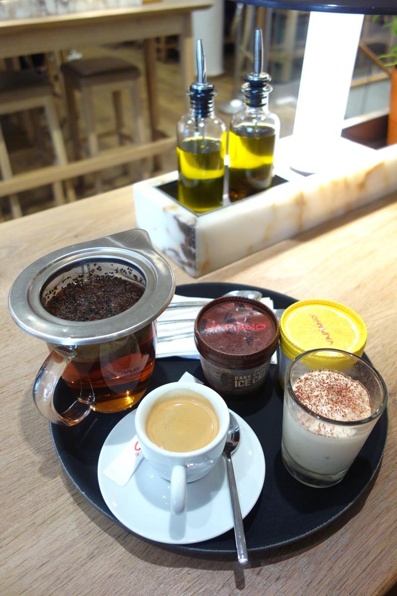 Vapiano Champs-Elysées - Boissons chaudes et desserts