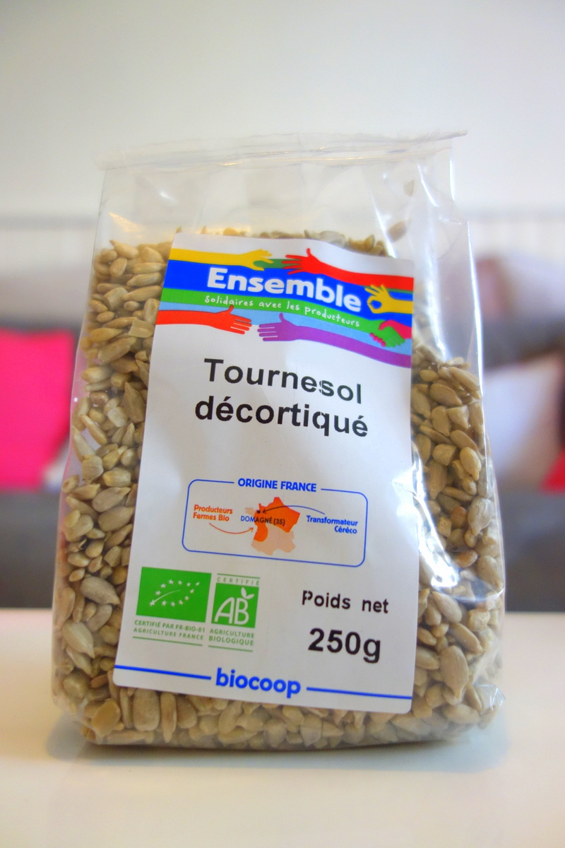Food day Open 2 Europe : tournesol décortiqué Ensemble