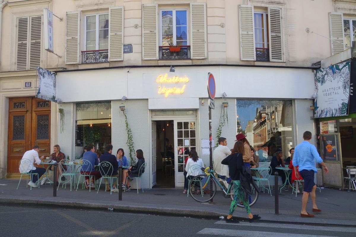 Brunch healthy à l'abattoir végétal à Paris
