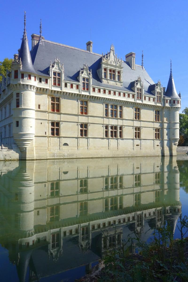 Le ch teau d 39 azay le rideau bijou de la renaissance le blog de lili - Visite chateau azay le rideau ...