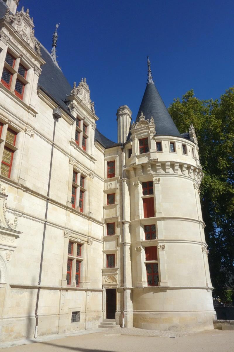 Château d'Azay-le-Rideau - Photo : Le blog de Lili