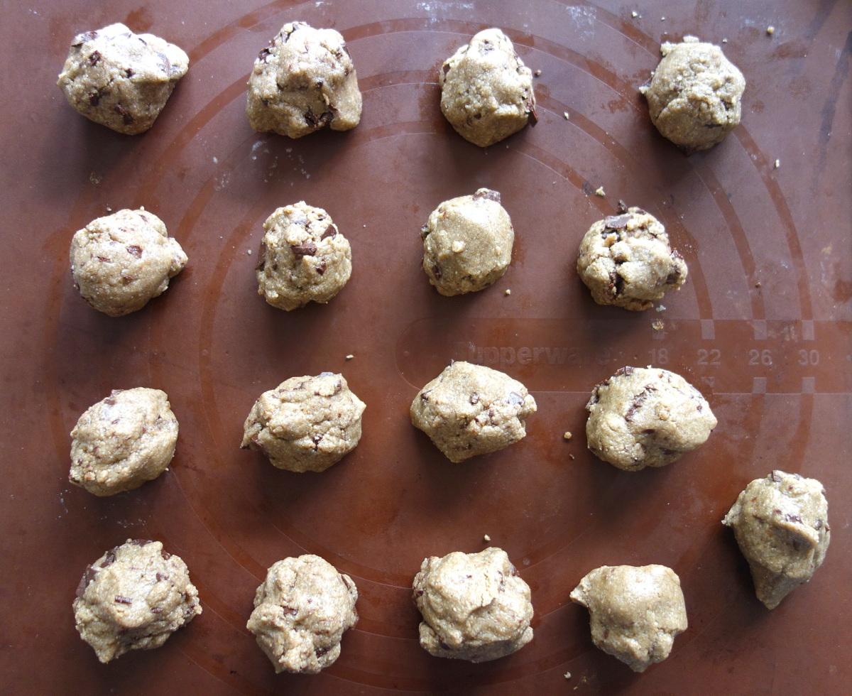 Cookies coco sans blé, sans lait et sans oeuf