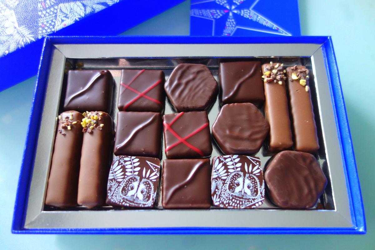 """Le coffret collection """"Nuit étoilée"""" de la maison du chocolat"""