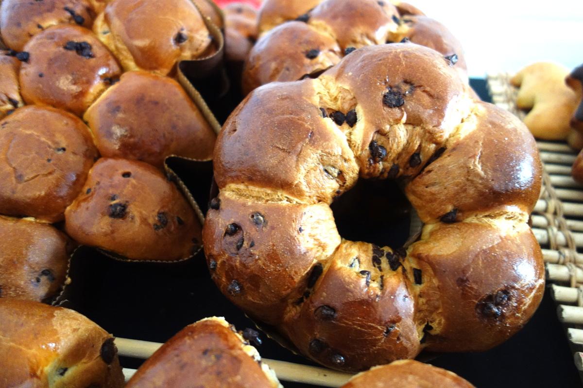 Boulangeries Paul : brioches de Noël 2017 aux pépites de chocolat