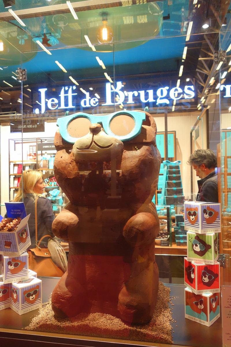 Salon du chocolat 2017 - Sculptures géantes en chocolat