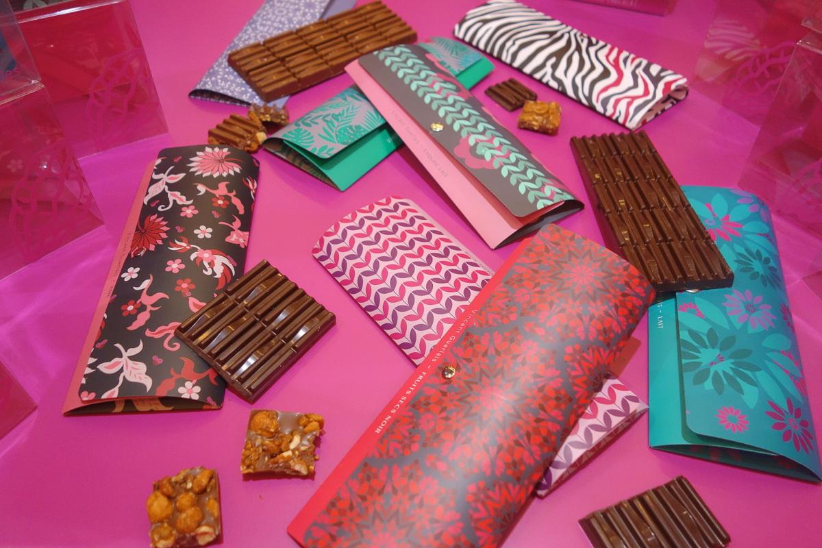 Salon du chocolat 2017 - Tablettes de chocolat